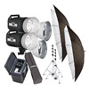 600RX Kit w/2x 600RX Dark Grey with Reflector Std Umb Std Bag Case