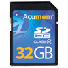 Acumem 32GB SDHC Platinum Card