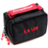 CB-90 Monitor Pack Pouch for 5.6' LCD Monitors -Black/Red