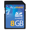 Acumem 8GB SDHC Platinum Card