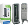 iGo Green Power Smart Tower 2: 7 outlet- 15 ft cord 4320 Joule protection