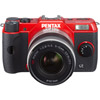 Pentax Q10 Red w/ 5-15mm f/2.8-4.5 Lens (02 Standard Zoom)