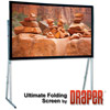 "CineFlex Dual XT600V 146"", 77.5"" x 124"", 16:10 Screen with Standard Legs"