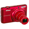 Coolpix S6500 Red