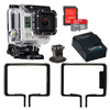 Hero 3 Black Adventure w/ 32GB Micro Card, Li-Ion Battery, Frame Mount & Tripod Adapter