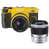 Q7 Yellow w/5-15mm and 15-45mm Zoom Lens (02 Standard Zoom and 06 Telephoto Zoom)