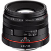 HD Pentax-DA 35mm f/2.8 Macro Lens Limited - Black