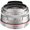 HD Pentax-DA 15mm f/4 ED AL Lens Limited - Silver