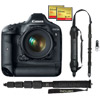 EOS 1D X Body kit w/ memory card, backpack,monopod & strap