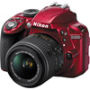 D3300 Body Red