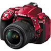 D5300 Red w/ AF-S 18-55mm VR II Kit
