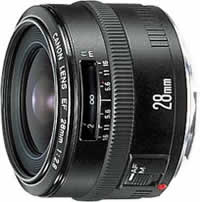 CanonEF 28mm f/2.8 Wide Angle Lens