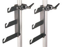 Manfrotto044 Background Paper Hook Set for Three Rolls Includes Two Super Clamps