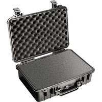 Pelican1500 Case Black w/Foam