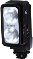 SonyHVL20DW2 Video Light - uses