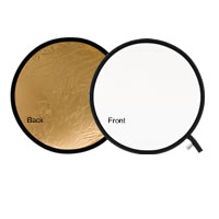Lastolite95cm Reflector Gold/White