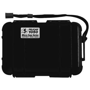 Pelican1050 Micro Case Black Opaque