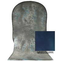 Lastolite6'x7' Dyed Collapsible Reversible Background with Train Wyoming/Mississippi