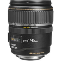CanonEF-S 17-85mm f/4-5.6 IS USM Zoom Lens