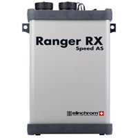 ElinchromRanger RX Speed AS w/Battery & Charger, Sync Cord, Strap