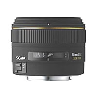 SigmaAF 30mm f/1.4 EX DC HSM Wide Angle Lens for Nikon