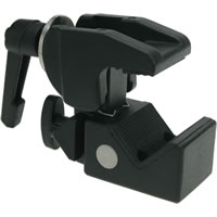 KupoKCP-710B Superb Clamp w/Adjust Handle - Black
