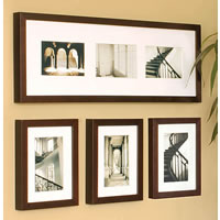 NexxtGallery 4-Piece Set Java 3-6x8 (4x6) 1-8x24 (3-4x6)