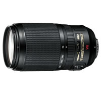 NikonAF-S 70-300mm f/4.5-5.6 G IF ED VR Telephoto Zoom Lens