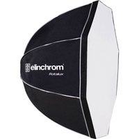 ElinchromRotalux Deep (Throat) Octa 100 Umbrella with bag