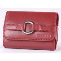 CanonELPH Series Leather Case Red for SD750, SD1000