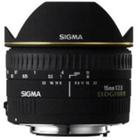 SigmaAF 15mm f/2.8 EX DG Fisheye Lens for Nikon