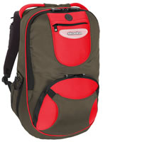 Skooba DesignSkooba Shuttle Backpack Olive/Red