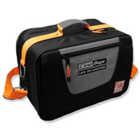 CineBagsCB-10 Cinematographer Bag V2 Black/Gray/Orange