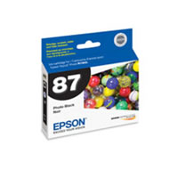 EpsonT087120 Photo Black HG2 Ink Cartridge for R1900