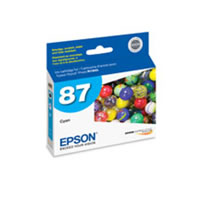 EpsonT087220 Cyan HG2 Ink Cartridge for R1900
