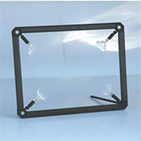 AFIX Frames12mm Afix Frames Black for 11