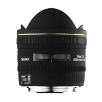 SigmaAF 10mm f/2.8 EX DC HSM Fisheye Lens for Canon
