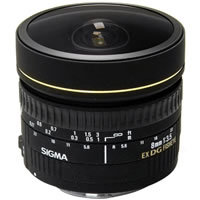 SigmaAF 8mm f/3.5 EX DG Circular Fisheye Lens for Nikon