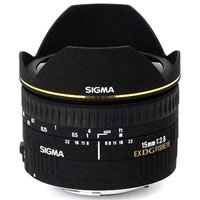 SigmaAF 15mm f/2.8 EX DG Fisheye Lens for Canon