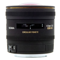 SigmaAF 4.5mm f/2.8 HSM EX DC Circ. Fisheye Lens for Nikon