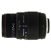 SigmaAF 70-300mm f/4.0-5.6 APO DG Macro Zoom Lens for Nikon