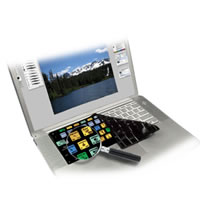 KB CoversPhotoshop Keyboard Cover for Powerbook/Macbook Pro Black