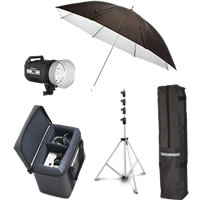 Elinchrom600RX Kit w/1x 600RX Dark Grey with Reflector Std Umb Std Bag Case