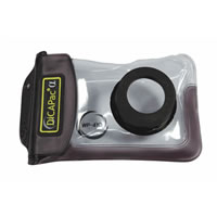 DiCAPacWP410 Waterproof Case For Digital Camera 105mm x 160mm x 18mm Optical Lens