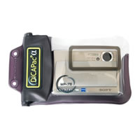 DiCAPacWP711 Waterproof Case For Digital Camera 145mm x 95mm