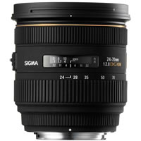 SigmaAF 24-70mm f/2.8 IF EX DG HSM Zoom Lens for Canon