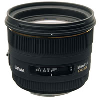 SigmaAF 50mm f/1.4 EX DG HSM Lens for Sony
