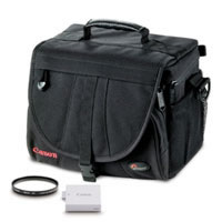 CanonEOS T1i, XSi, XS Accessory Kit includes  EX180 Bag, LP-E5 Battery Pack, 58mm UV Filter