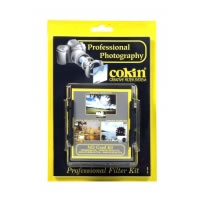 CokinN250A ND Grad Kit with holder, P121L, P121M, P121S filters