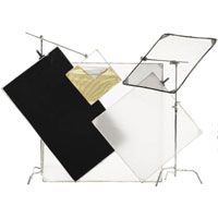 ChimeraCameo Kit with Panel Frame, Reflectors, Heads and Bag
